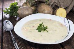 Free Potatoe Soup Stock Image - 31890381