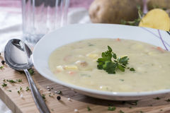 Free Potatoe Soup Royalty Free Stock Images - 33818029