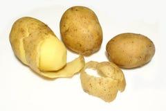 Potatoes. Isolated on white background stock image
