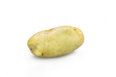 Potatoes. One potatoes isolate on a white background Royalty Free Stock Photo