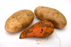 Potatoes. Variety of potatoes Stock Photos