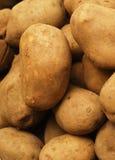 Potatoes. Background with garden fresh potatoes Royalty Free Stock Photos