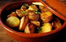 Potatoes Stock Photography