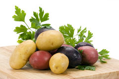 Potatoes 3 Colors Royalty Free Stock Image