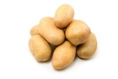 Potatoes. Isolated on white background royalty free stock image