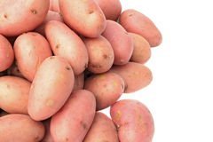 Potatoes. Pile of potatoes isolated on white background Stock Photo