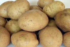 Potatoes. Pile of potatoes stock photos