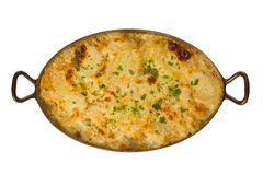 Potatoes Au Gratin Royalty Free Stock Photo