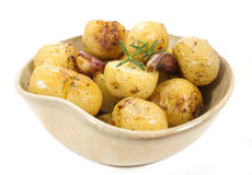 Potatoes bowl. Royalty Free Stock Photo