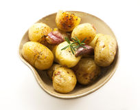 Potatoes bowl. Stock Photography