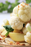Potatoes and cauliflower Stock Photo