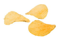 Potatoes chips Royalty Free Stock Photos