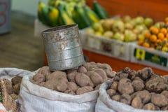 Potatoes in Chordeleg Stock Photos