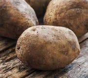 Potatoes close up Stock Photos