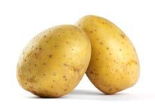 Potatoes closeup Stock Images