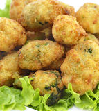 Potatoes croquettes royalty free stock images