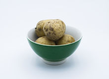 Potatoes. The potatoes in the dish Royalty Free Stock Photography
