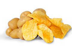 Potatoes Royalty Free Stock Photo