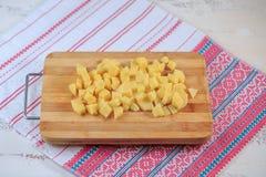 Potatoes fresh Stock Images