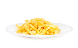 Potatoes fries in the plate Stock Photo