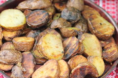 Potatoes at home Stock Image