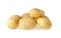 Potatoes isolated Royalty Free Stock Image