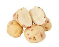 Potatoes isolated Stock Image