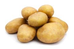 Potatoes isolated Stock Photos