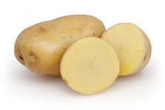 Potatoes isolated on white background Royalty Free Stock Photos