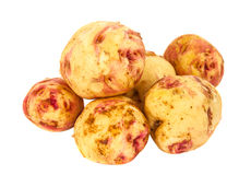 Potatoes isolated Royalty Free Stock Photography