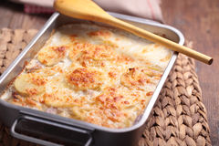 Potatoes a la dauphinoise Royalty Free Stock Photo