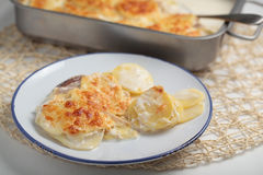 Potatoes a la dauphinoise Stock Image