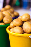 Potatoes at local market Stock Photography