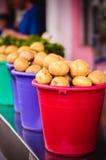 Potatoes at local market Royalty Free Stock Photography