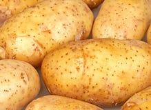Potatoes. Macro view on a potatoes Royalty Free Stock Photography