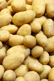 Potatoes in marketplace Royalty Free Stock Image