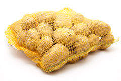 Potatoes in the net Royalty Free Stock Photos
