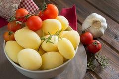 Potatoes novelle Royalty Free Stock Photography