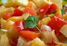Potatoes O'Brien Stock Photo
