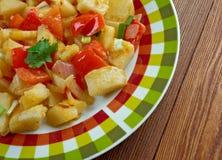 Potatoes O'Brien Stock Image