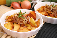 Potatoes with onions Stock Photography