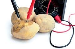 Potatoes power Stock Photo