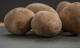 Potatoes raw Royalty Free Stock Images