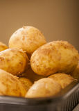Potatoes raw Stock Images