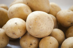 Potatoes raw vegetables food Royalty Free Stock Photography