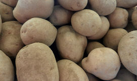Potatoes raw vegetables food in market for pattern texture and background Stock Image