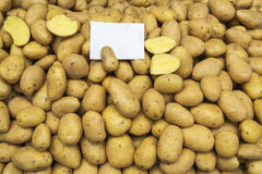 Potatoes raw vegetables food Royalty Free Stock Image