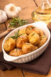 Potatoes With Rosemary Stock Photo