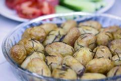 Potatoes with rosemary Royalty Free Stock Photos