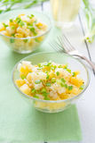 Potatoes salad Stock Photo